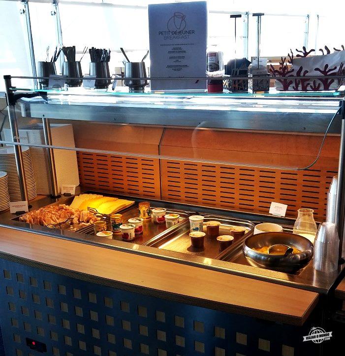 Buffet do café da mahã