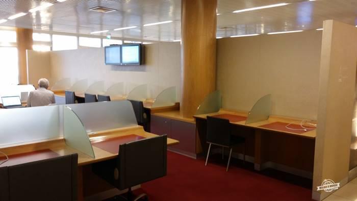 Espécie de business center