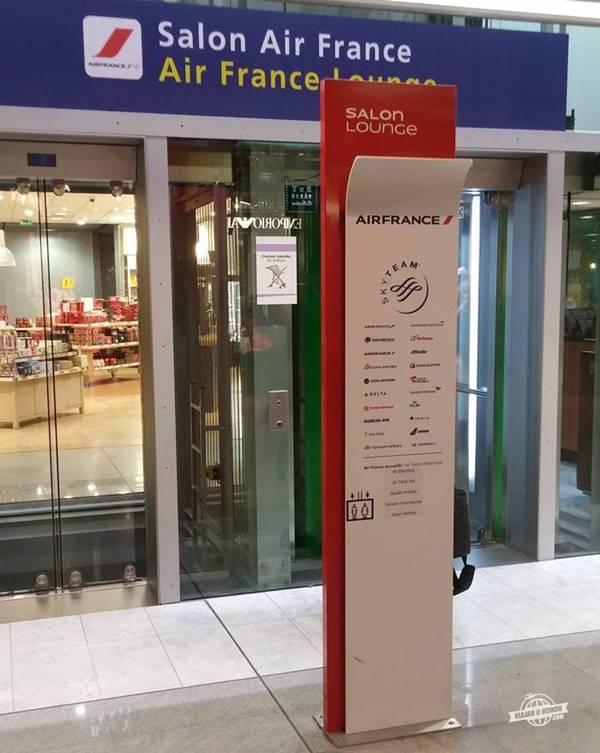 Acesso ao Lounge da Air France
