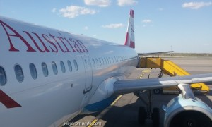 Exclusivo! Classe Executiva do A321 da Austrian Airlines