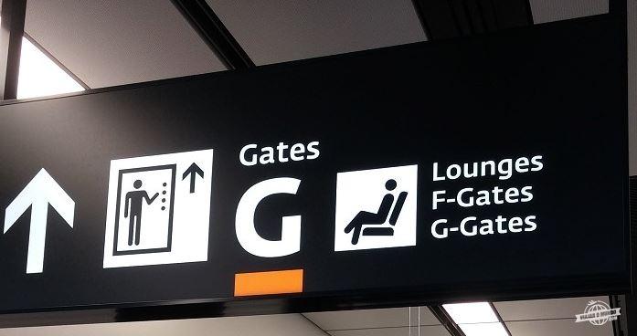 Indicação dos elevadores