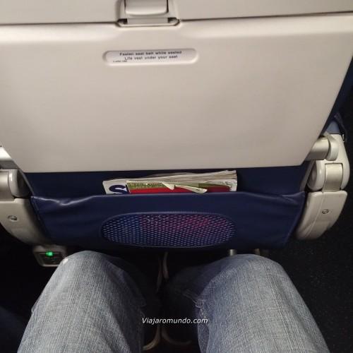 Espaço para as pernas