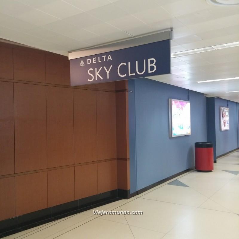Entrada do Sky Club