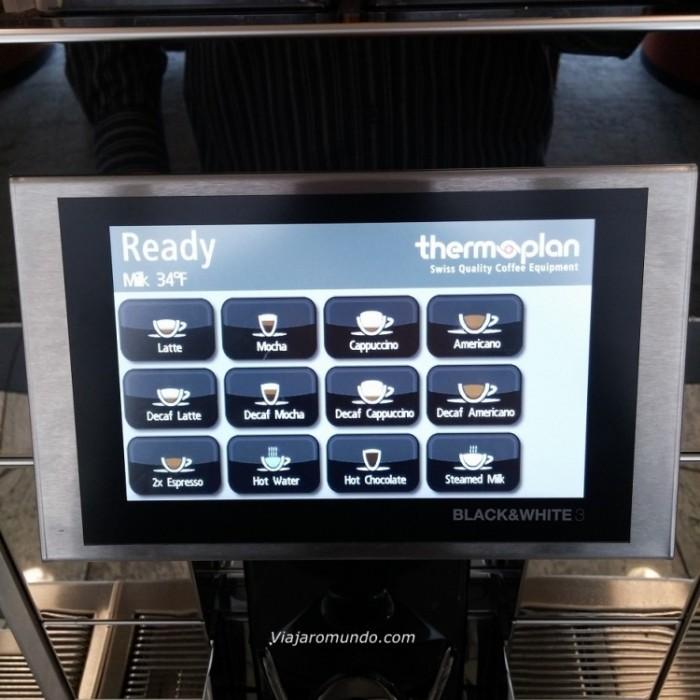 Máquina de bebidas Starbucks