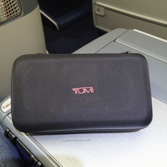 Novíssimo Amenity Kit Delta One - Classe Executiva