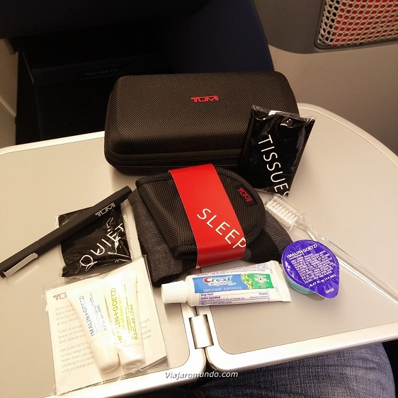 Amenity Kit Delta One - Classe Executiva