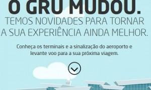 Aeroporto de Guarulhos: Nova numeração dos Terminais!