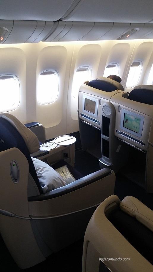 Assentos voo AF 457