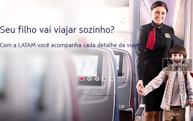 Latam_Filho_desacompanhado (Foto divulgação)