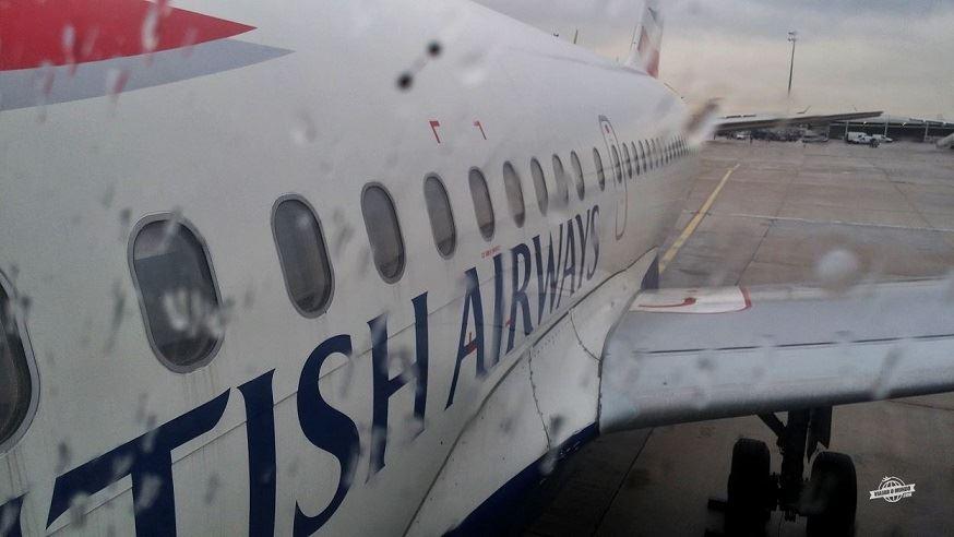 A319 da BA - embarcando na aeronave!
