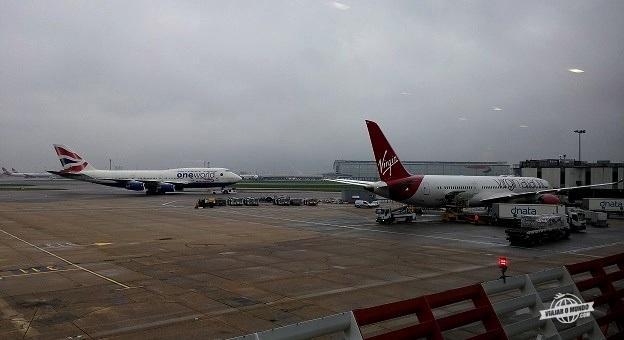Pátio de aeronaves