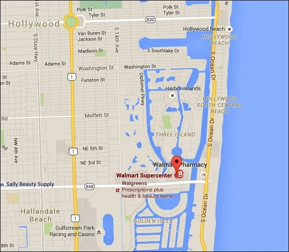 Walmart (Google Maps)