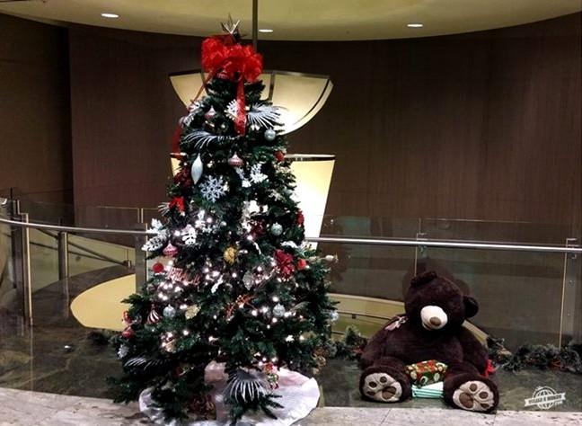 Decoração de Natal do Admirals Club D-30 Miami