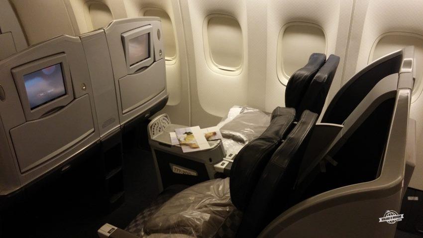 Assentos Classe Executiva Boeing 777 da American Airlines