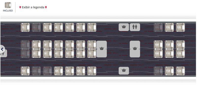 Classe Executiva do Boeing 777 renovado da Air France