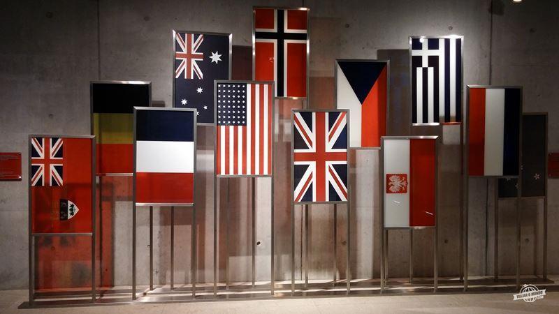 Os aliados - Cemitério e Memorial Americano da Normandia