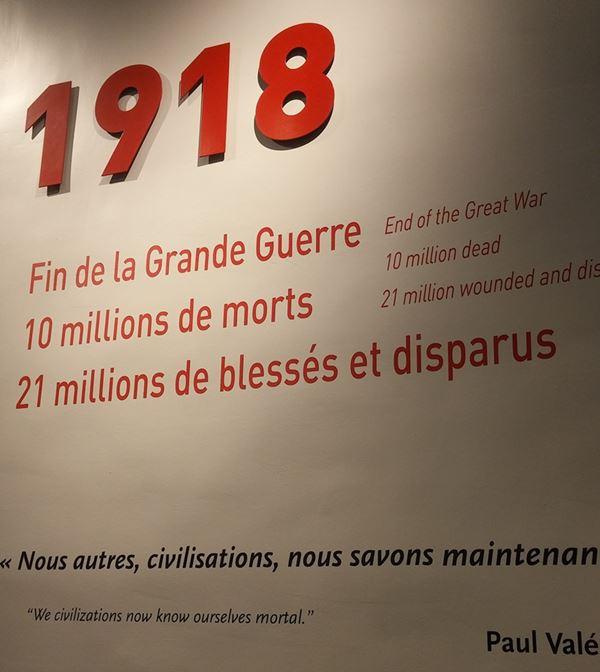 Saldo da Primeira Guerra Mundial