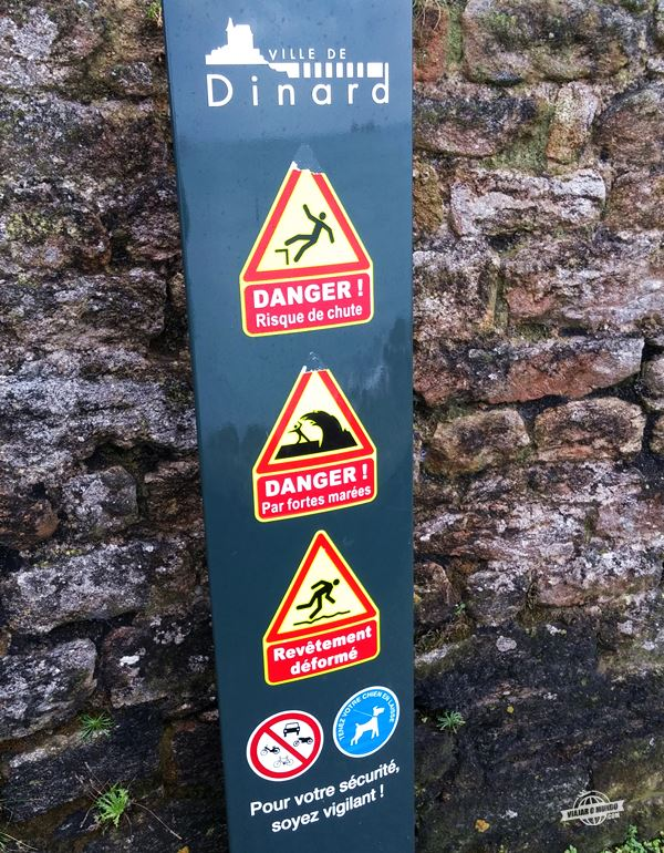 Placa de sinalização - Dinard