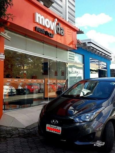 Alugando o carro na Movida