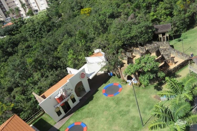 Cineminha e camas elásticas - Ecologic Ville Resort