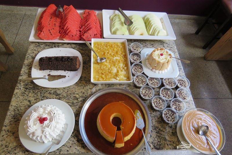 Almoço no Restaurante Forquilha - Ecologic Ville Resort