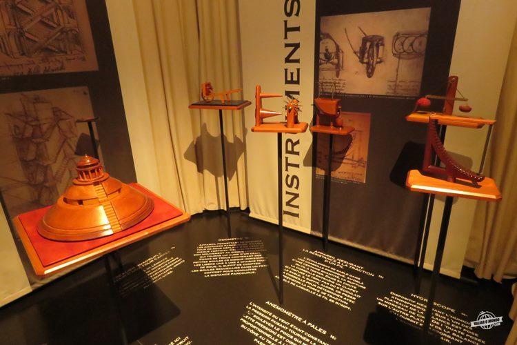 Exposição Léonard de Vinci Ingénieur