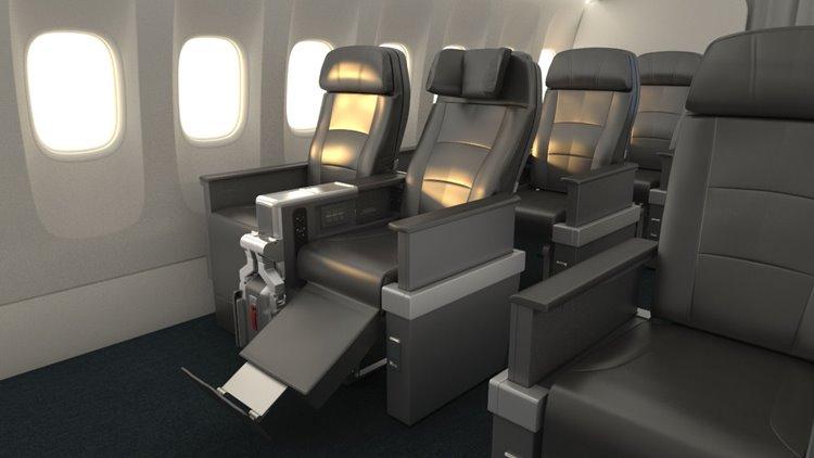Premium Economy do 787-9 da American Airlines (fonte: aa.com)