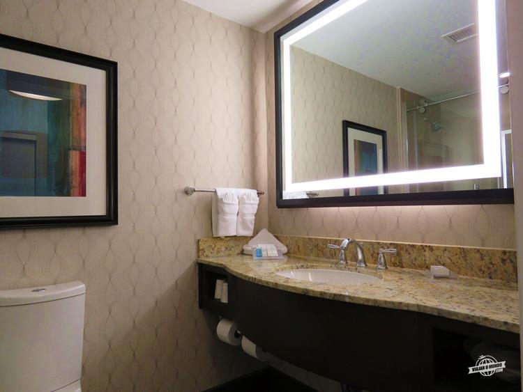 Banheiro - Hilton Garden Inn Washington DC/Georgetown Area