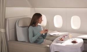 Air France: La Première e Business terão cardápio de chefs estrelados do guia Michelin