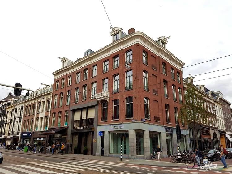 Caminhada por Amsterdã