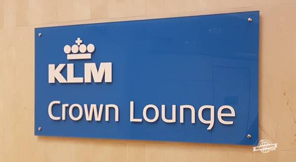KLM Crown Lounge Amsterdam Intercontinental