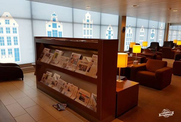 KLM Crown Lounge Amsterdam