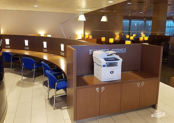 Business Center - KLM Crown Lounge Amsterdam