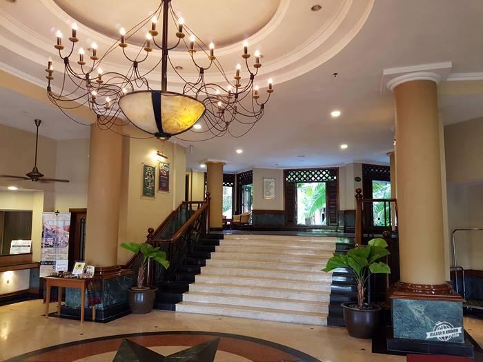 Lobby do hotel - Palm Garden Hotel