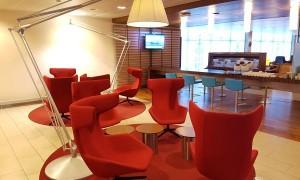 Sala VIP KLM Crown Lounge Amsterdam Schiphol