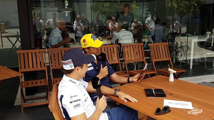 Perguntas e respostas com os Felipes do Brasil - bastidores da Fórmula 1