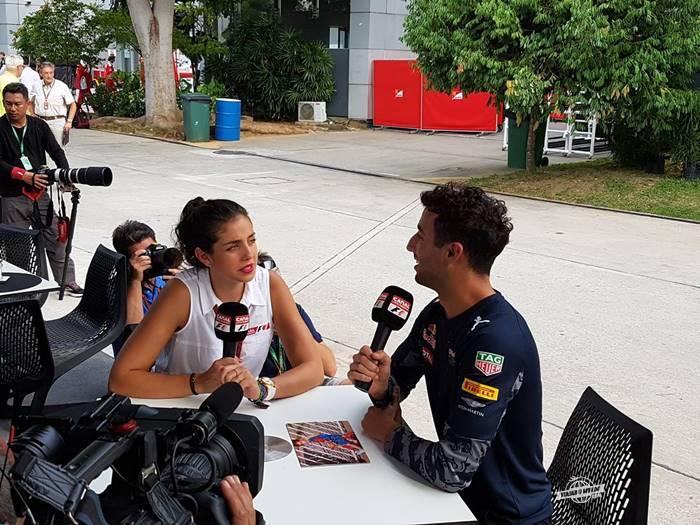 Entrevista com Daniel Ricciardo
