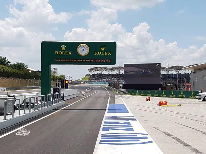 Pit Lane Walk - Bastidores da F1