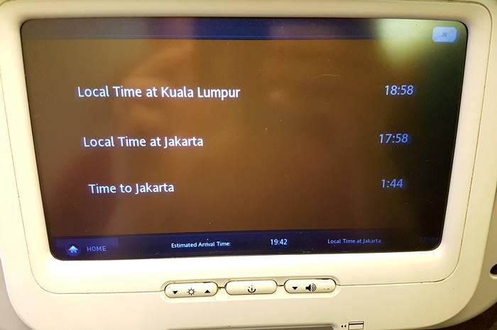 Voo Kuala Lumpur - Jacarta
