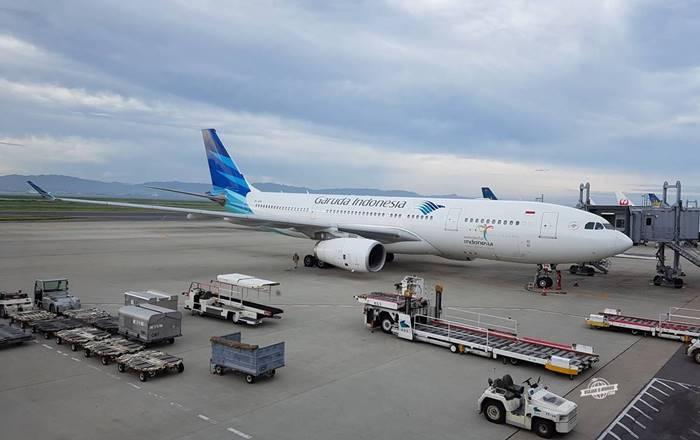 Airbus A330 da Garuda Indonesia