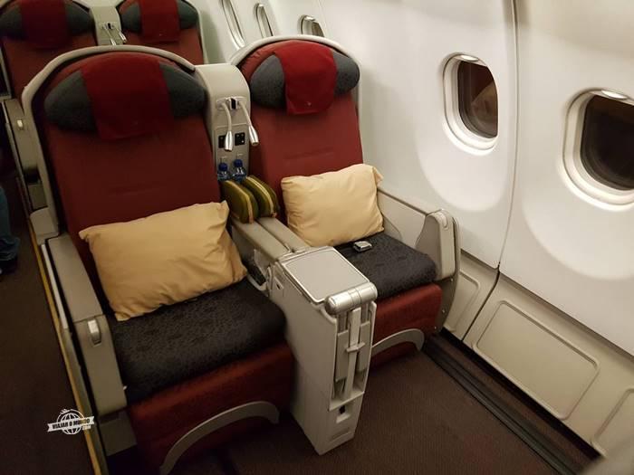 Classe Executiva - A330 da Garuda Indonesia
