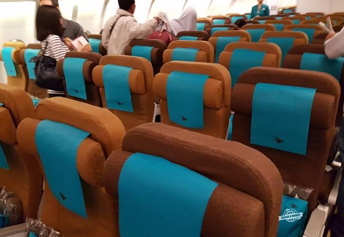 Classe Econômica do A330 da Garuda Indonesia