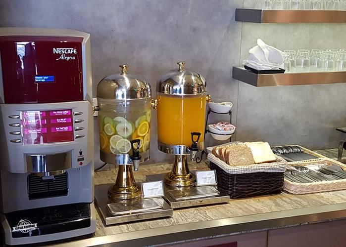 Bebidas no buffet