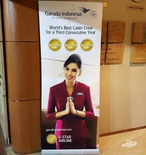 Sala VIP Garuda Indonesia em Jacarta