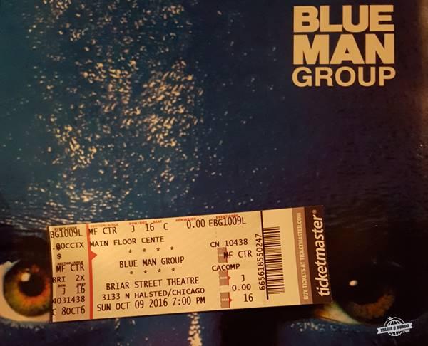 Ingresso/Convite para o Show Blue Man Group em Chicago