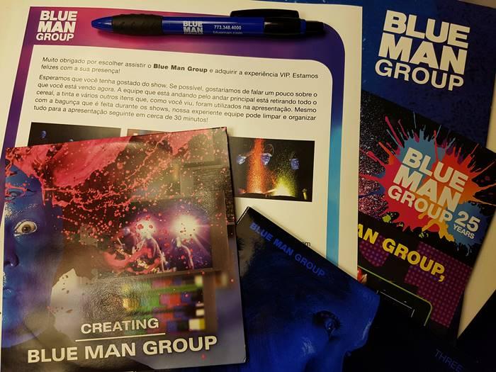 Kit de imprensa - Blue Man Group