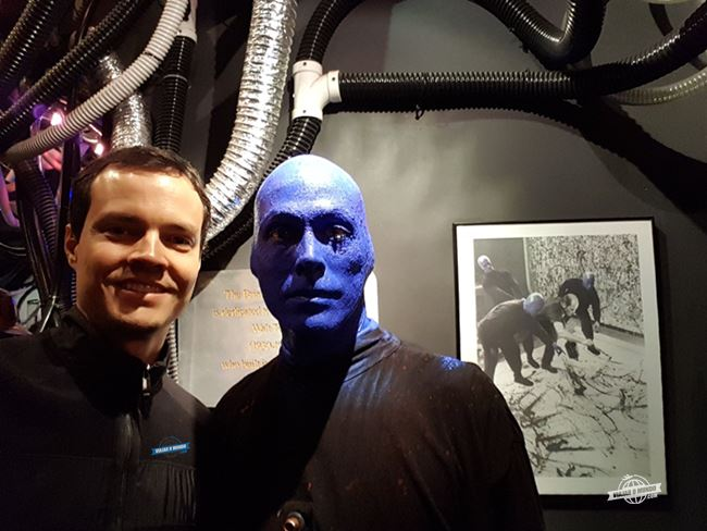 Blue Man Group em Chicago