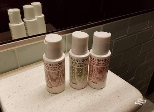 Kit de higiene pessoal - Sala VIP Delta Sky Club aeroporto JFK