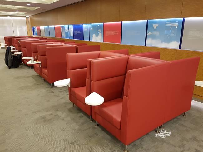 Ambiente com meus assentos preferidos