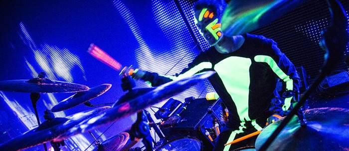 Show do Blue Man Group (fonte: www.blueman.com) - Blue Man Group em Chicago
